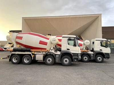 Concrete mixers for Iceland